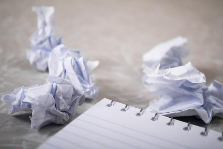 copywriter struggles